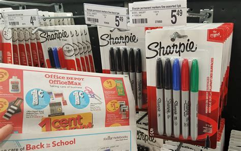 Will Staples Honor Office Depot Coupons Staples Price Match Deal Ideas Savings On Bic Pens