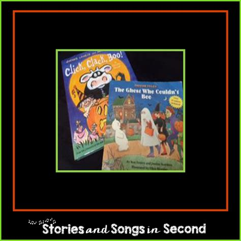 Story Book Say Boo To The Animals stories and songs in second boo tiful word work
