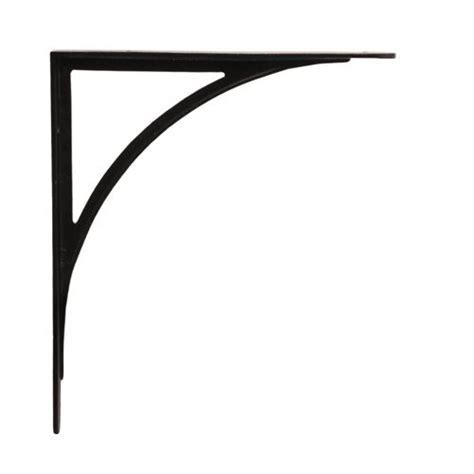 3 Inch Shelf Brackets by Restorers 11 Inch X 8 3 4 Inch Arched Iron Shelf Bracket