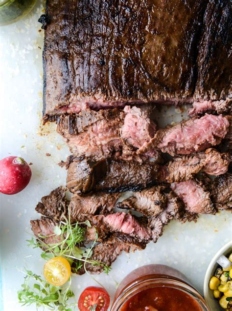 marinated grilled flank steak with our favorite toppings for father s day how sweet eats