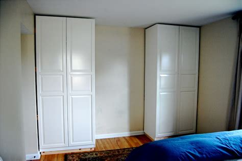 Free Standing Closet With Doors Free Standing Wardrobe Closet Home Ideas