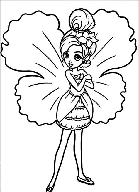 disney thumbelina coloring pages