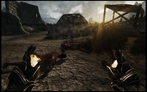 skyrim mod game freezes burn freeze shock effects at skyrim nexus mods and community