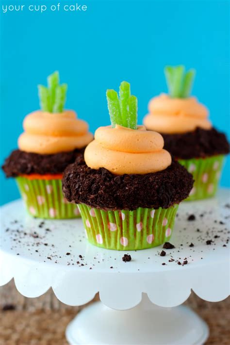 How To Decorate Cake At Home by Garden Carrot Cupcakes Your Cup Of Cake