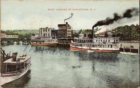 boat dock jamestown 1910 jamestown new york boat landing docks steam boats