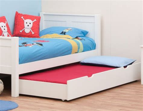 kids trundle beds classic kids trundle bed white