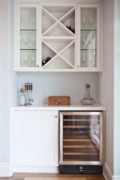 a clean and organized bar is a great option for a