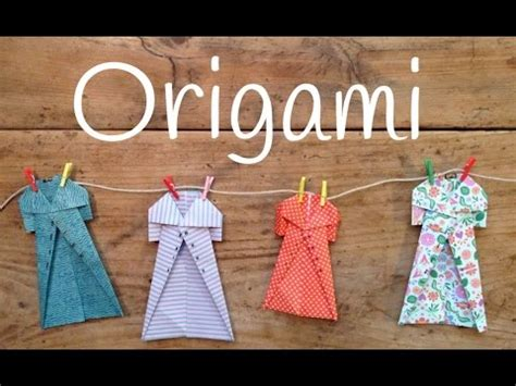 Fashion Origami Set - easy origami for how to make an origami coat