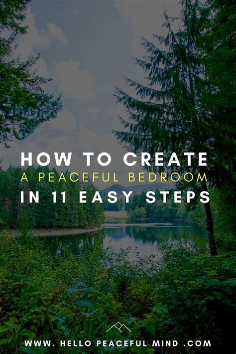 how to make your bedroom peaceful how to create a peaceful bedroom in 11 easy steps
