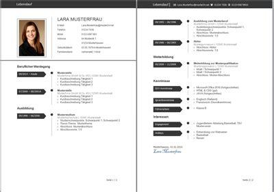 Lebenslauf Muster Kostenlos Ohne Anmeldung by Aktuelles Lebenslauf Muster Und Tipps Zur Gestaltung