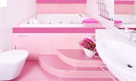 Decorating Ideas For A Pink Bathroom Pink Bathroom Ideas Beautiful Pink Decoration