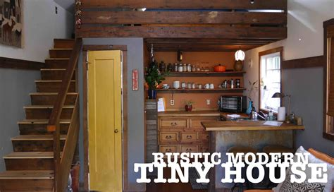 garage door tiny house garage turned into a tiny house quot the rustic modern quot in