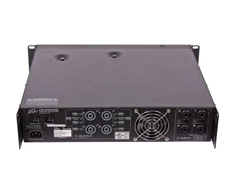 Power Lifier Peavey Cs peavey cs 800x4 cs 800 x4 power lifier used ebay
