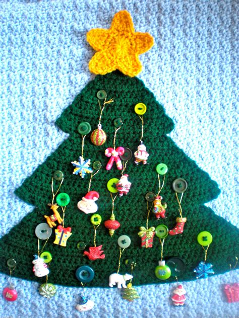 pattern for christmas tree advent calendar pattern advent calendar modern holiday decor button tree