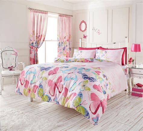 pink butterfly bedroom fashion light pink butterfly girls bedding duvet