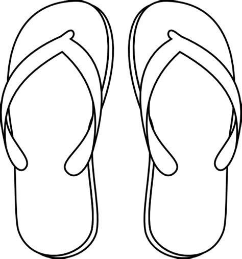 flip flops clip art  clkercom vector clip art
