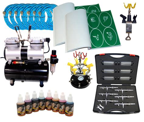 temporary tattoo kit air brush air brush compressors air brush