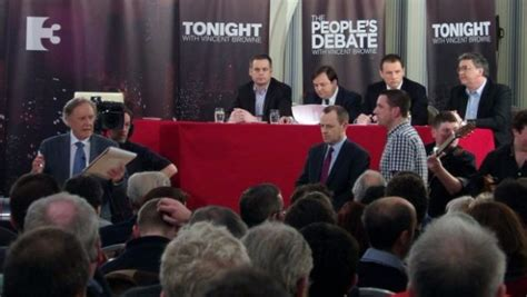 what is on tv3 tonight peoples debate airs on tv3 tonight boyle today your