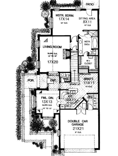 narrow lot 2 story house plans pin by magda duhon on dream home plans pinterest