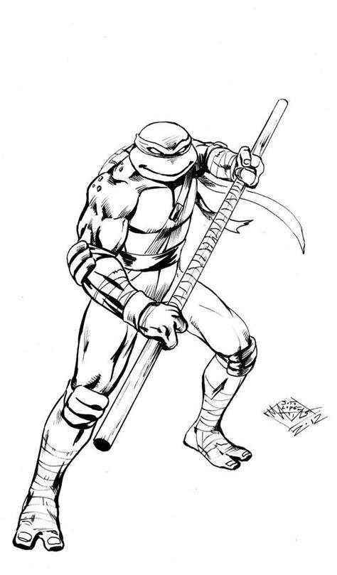 ninja turtle donatello coloring page teenage mutant ninja turtles coloring pages leonardo