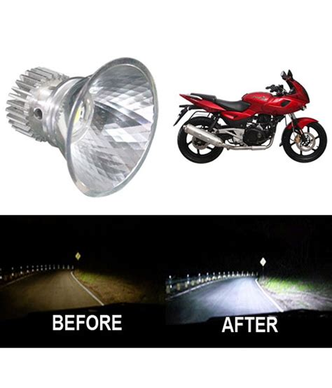 Lu Projector Pulsar 220 vheelocityin bright light dome motorcycle scooter