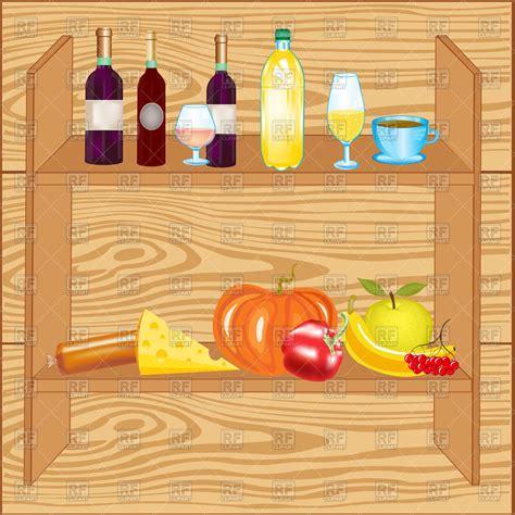 food shelf clipart 10