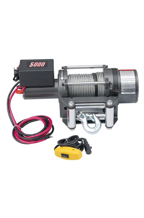 boat winch test electric vehicle boat winch 12vdc 5000lbs 2272kgs
