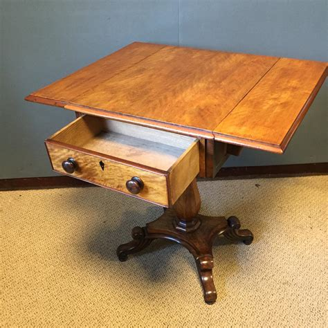drop leaf side table small drop leaf side table with two drawers