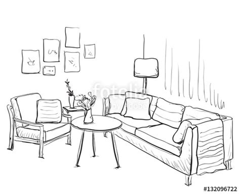 Room Interior Sketch Chair Sofa by Quot Room Interior Sketch Sofa And Furniture