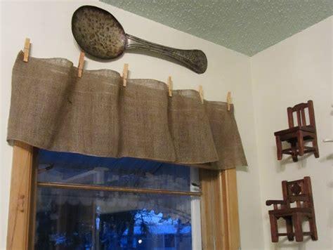 burlap curtain valance burlap valance 16 unique diy patterns guide patterns