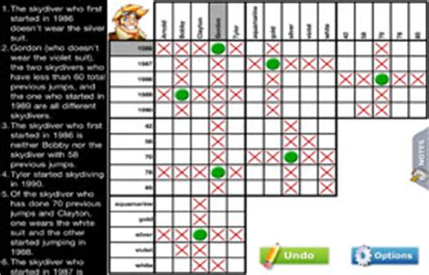 printable puzzle baron logic puzzles play online or print your own for free