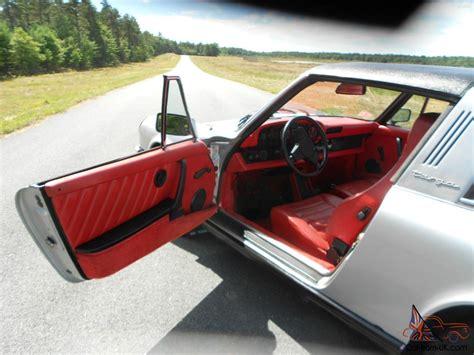 porsche red interior porsche 911 s targa silver w full lobster red leather