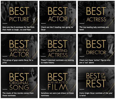Academy Award For Best Also Search For 2015 Academy Award Nominations Eduardo Visualseduardo Visuals