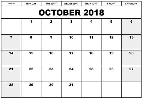 printable calendar october 2015 australia october 2018 printable calendar templates calendar