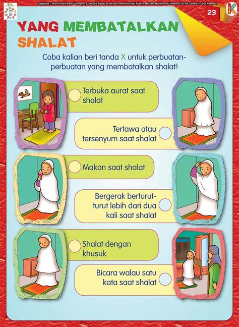 Buku Serial Anak Inilah Tata Cara Shalat Pustaka 70i1 anak soleh tidak suka membatalkan shalat ebook anak