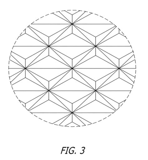 angular pattern numbers only patent usd665584 retro reflective sheeting with a corner