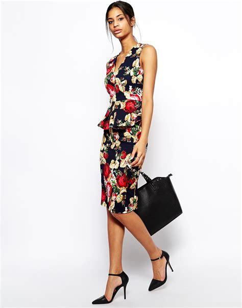 Pengiriman Cepat Baju Jumpsuit Wanita Rompers V Neck Size S 1 vesper v neck top with origami peplum at asos