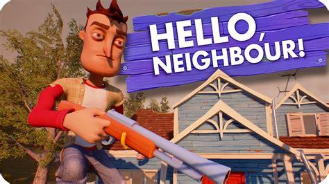 home design game neighbors hello neighbor alpha 2 ep 1 a hello neighbor what s on the 3rd floor hello neighbor