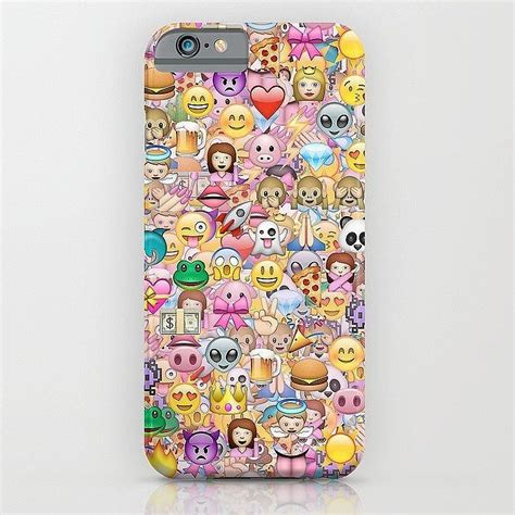 Phonecase Flexycase Papercase Olga 03 emoji phone cases popsugar tech