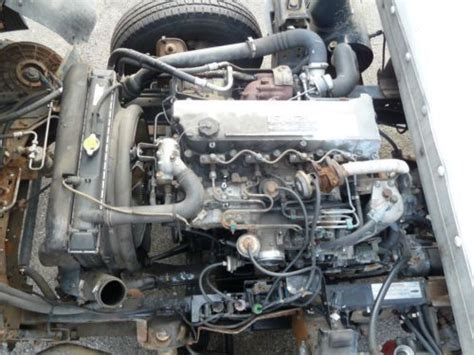 how does a cars engine work 1998 isuzu amigo security system find used 1999 isuzu npr turbo diesel 160k for parts or repair hole in motor 16 in