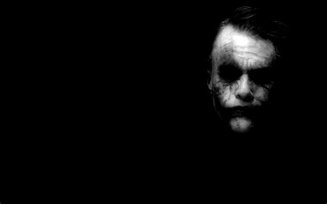 black and white joker wallpaper joker batman the dark knight heath ledger dark black