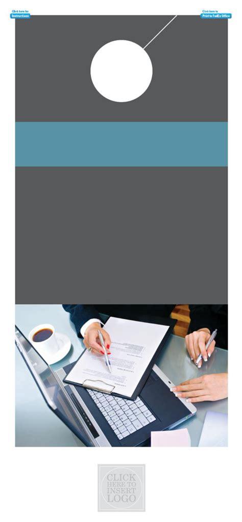 banking and financial door hanger template banking and financial door hanger template for