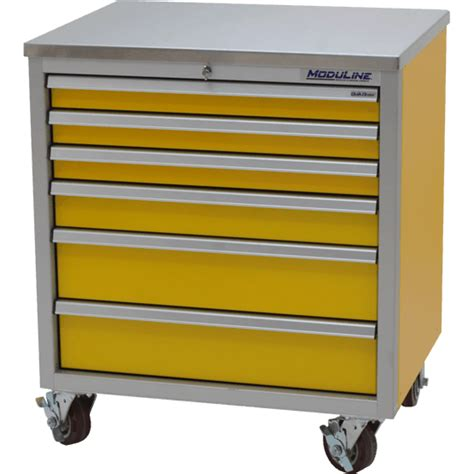 Locking Cabinets Pro Ii Aluminum Mobile Tool Boxes 37 7 Quot High Moduline