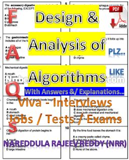 design and analysis of algorithms question bank with answers design and analysis of algorithms pdf questions