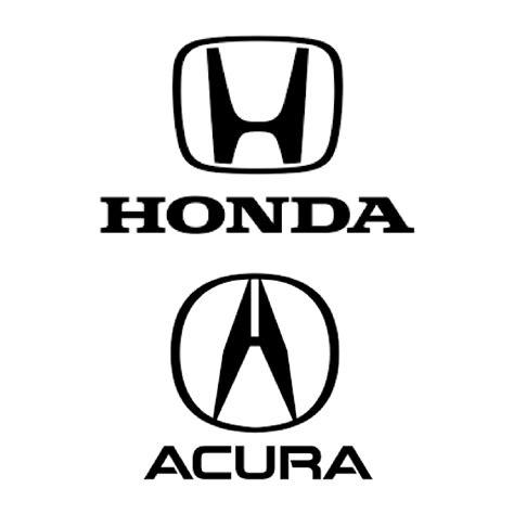 honda acura logo dual branding accent interactive