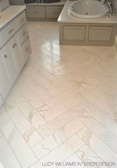 porcelain bathroom floor tile herringbone splashback tiles rescue remedy for small spaces