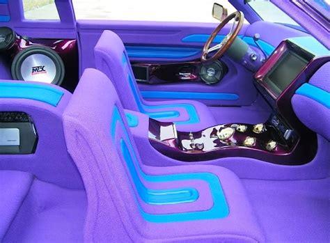 10 lowrider car interiors