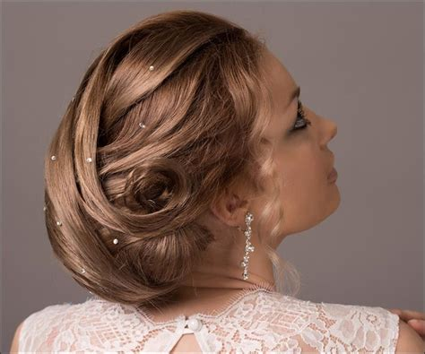 wedding hairstyles mid length hair bridal hairstyles 38 gorgeous looks for this wedding season