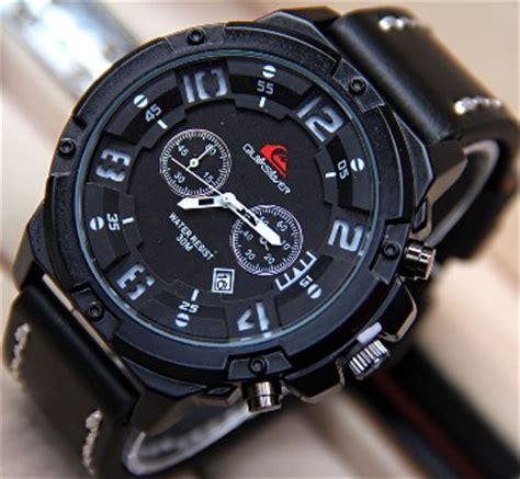 Jam Tangan Quiksilver Quartz jual jam tangan pria quiksilver tali kulit qs6381b harga murah