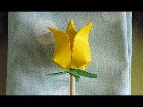 tutorial origami quadrifoglio oltre 25 fantastiche idee su origami tulipano su pinterest
